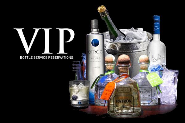san diego bottle service vip