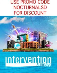 intervention 2017 hard rock hotel san diego pool party sundays tickets vip cabana day bed