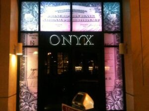 thin onyx guest list vip party bus bottle service