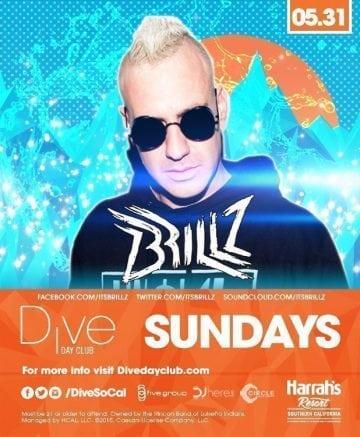 Harrahs Dive Brillz Tickets Promo Code Discount