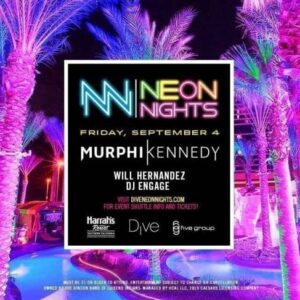 Neon Night Harrahs San Diego Club Yacht Promo Code murphy kennedy will hernandez dj engage