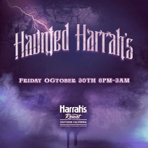 haunted halloween harrahs 2015 ticket promo code san diego casino hotel prize dj performers
