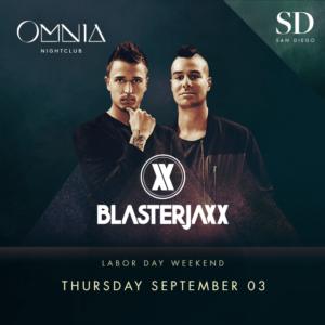 Blasterjaxx Omnia Promo Code Discount Tickets San Diego Club