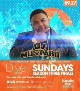 Dive Day Club Dj Mustard PROMO CODE DISCOUNT