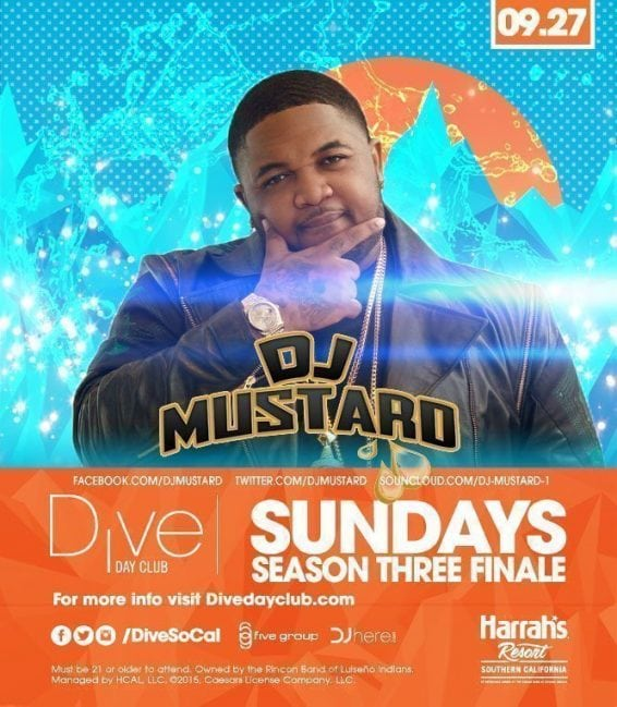 Dive Day Club Dj Mustard PROMO CODE DISCOUNT
