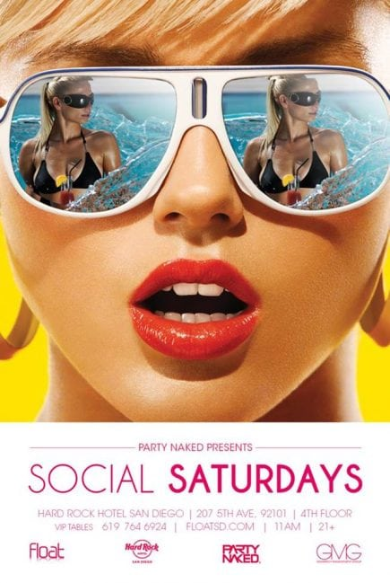 Social Saturdays Hardrock Pool Party Discount Tickets Promo Code