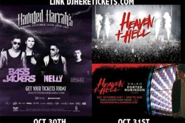 Haunted Harrahs Heaven Hell Halloween Discount code 2015 san diego