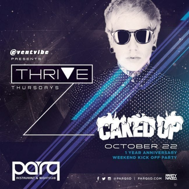Parq San Diego CAKED UP DISCOUNT PROMO CODE TICKETS