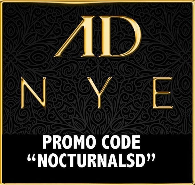 AD NYE Night Club 2016 TICKETS DISCOUNT PROMO CODE SAN DIEGO