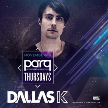 Dallas K Parq Night Club Tickets Promo Code