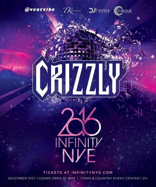 Dj CRIZZLY NYE 2016 san diego ticket discount promo coupon code