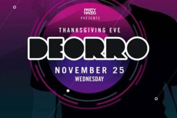 Parq Night Club DEORRO Tickets DISCOUNT PROMO CODE
