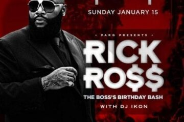 parq night club rick ross tickets discount promo code 2017 jan 15