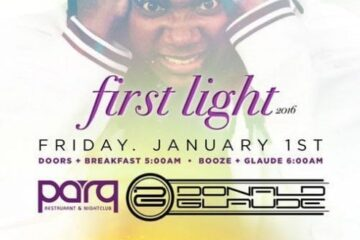 Parq Donald Glaude NYE Day Light Discount Promo Code