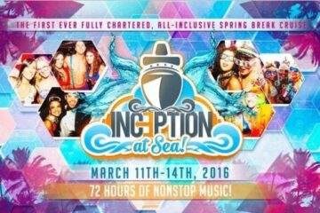 Inception At Sea Discount Promo Code Cruise Spring Break 2016