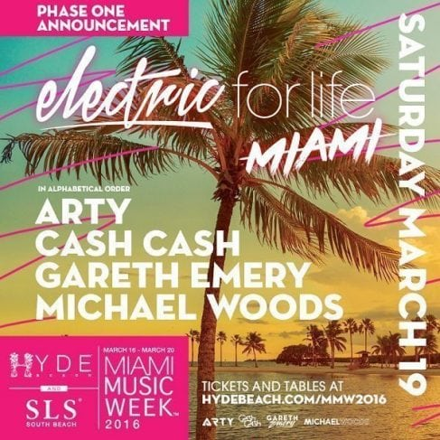 SLS Miami Dash Berlin Discount Promo Code Tickets
