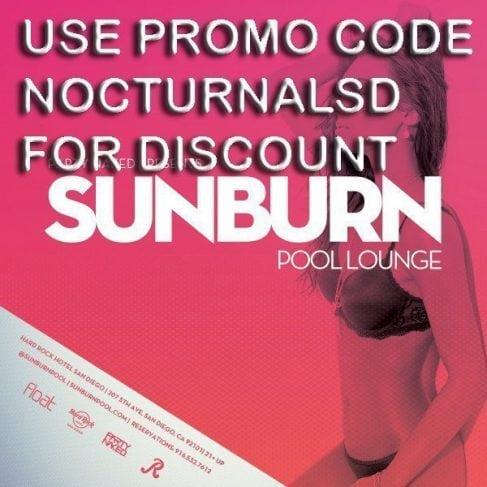SunBurn Discount Promo Code Tickets Hard Rock San Diego hardrock sunburn