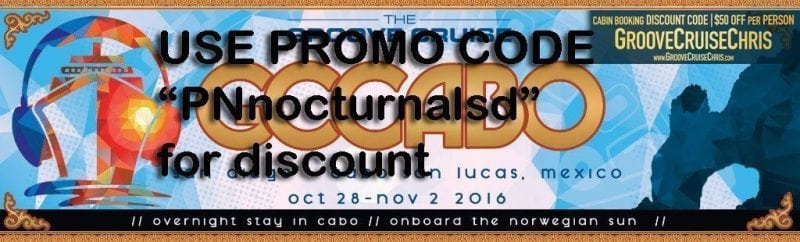 Groove Cruise Cabo 2016 DISCOUNT PROMO CODE Coupon
