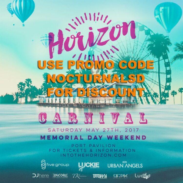into the horizon carnival 2017 port pavilion san diego discount promo code tickets carnival port pavillion discount 5group