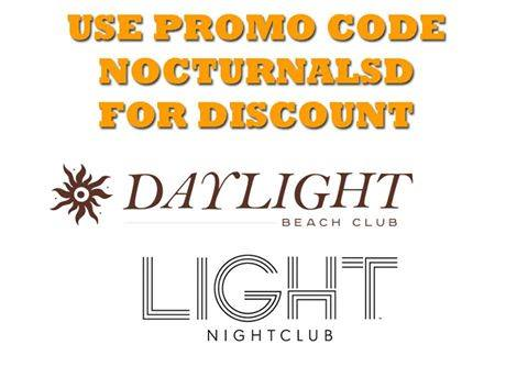 DAYLIGHT Beach Club promo tickets events las vegas music