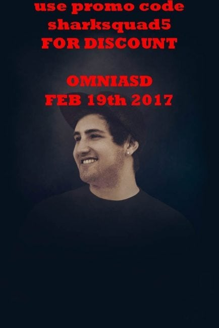 Jauz Omnia San Diego Tickets DISCOUNT PROMO CODE Feb 2017 saturday gaslamp downtown nightlife admission vip