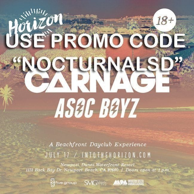 Newport Horizon Beach Tickets Discount Promo Code for sale by owner