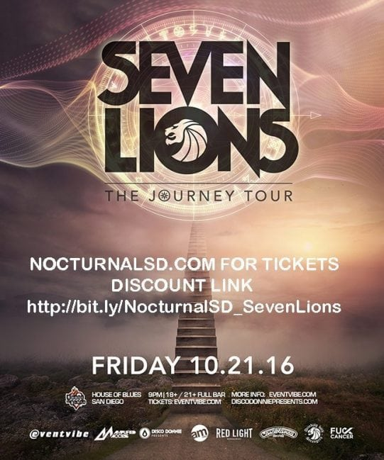 seven lions house of blue san diego discount tickets for sale promo code downtown gaslamp san diego october 2016