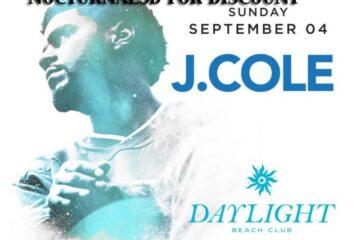DayLight Las Vegas LABOR DAY 2016 J COLE Tickets Discount PROMO CODE Mandalay Bay beach club beachclub