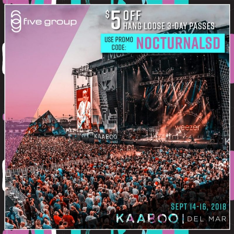 Kaaboo 2018 del mar discount promotional code tickets passes san diego promotional code pass 1 day 2 day 3 day del mar san diego