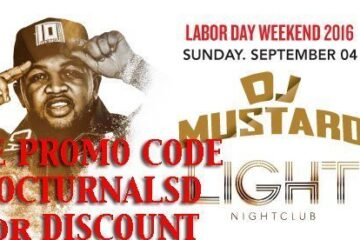 Light LABOR DAY 2016 DJ MUSTARD Tickets PROMO CODE Mandalay Bay Discount Las Vegas