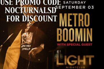 Light Las Vegas METRO BOOM LABOR DAY 2016 Tickets Discount PROMO CODE Mandalay Bay for sale