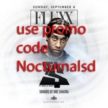 TY$ Fluxx San Diego Tickets Discount PROMO CODE event