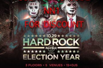 Hardrock Halloween Horror DISCOUNT TICKETS Promo Code San Diego Hotel vip election year