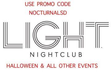 Light Las Vegas Haunted Homecoming Tickets DISCOUNT PROMO CODE Halloween 2016 hotel casino mandalay bay