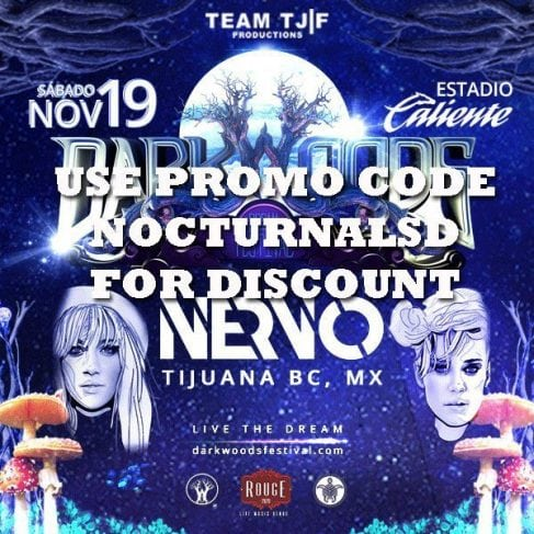 DarkWoods Dream Festival Tickets DISCOUNT PROMO CODE Nervo Marshmello Oskier event 2016. There will be live performances by Nervo, Marshmello and Oskier