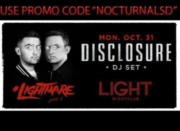 Lightmare Light Night Club Halloween 2016 DISCOUNT Promo Code Disclosure Tickets Mandalay Bay Las Vegas, hotel casino, vip bottle table pricing, the strip