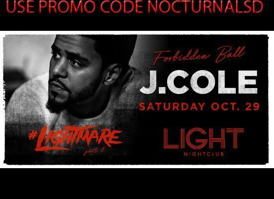 Lightmare Light Night Club Halloween 2016 DISCOUNT Promo Code J Cole Tickets Mandalay Bay Las Vegas VIP, bottle table, guest list, pricing, coupon group
