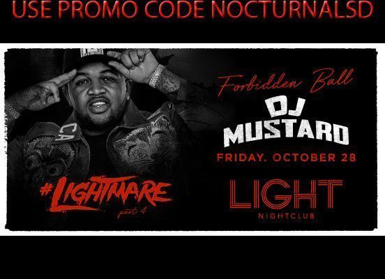 Lightmare Light Night Club Halloween 2016 DISCOUNT Promo Code Mustard Tickets Mandalay Bay Hotel Casino The Strip Las Vegas vip bottle table guest