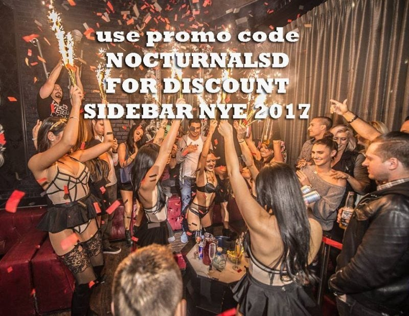 sidebar san diego new years eve 2017 party event tickets