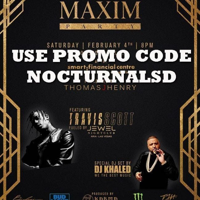 Maxim Party 2017 Houston Texas Tickets Invitation Code Discount Super Bowl promo code discount