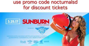 Sunburn Pool Hard Rock 2017 tickets DISCOUNT PROMO CODE Lounge sun burn parties
