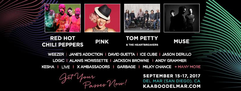 Kaaboo Del Mar 2017 music lineup