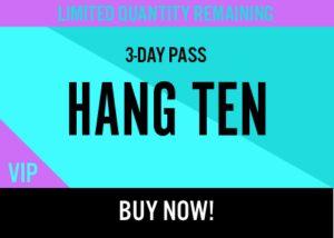 Kaaboo Passes for sale hang ten