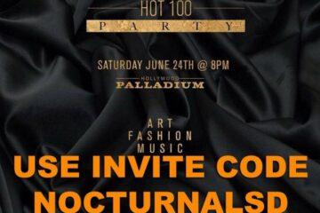 Maxim Hot 100 Party 2017 Invitation Code Hollywood Palladium vip table bottle promo code