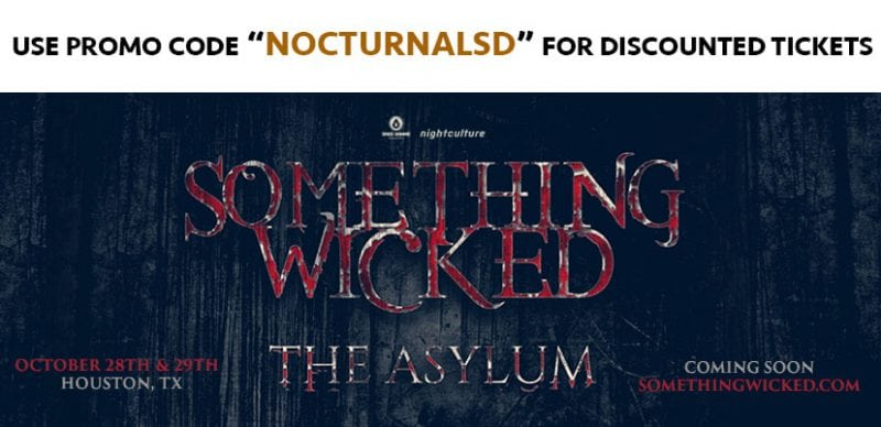 SOMETHING WICKED FESTIVAL 2017 TICKETS DISCOUNT PROMO CODE HOUSTON TEXAS