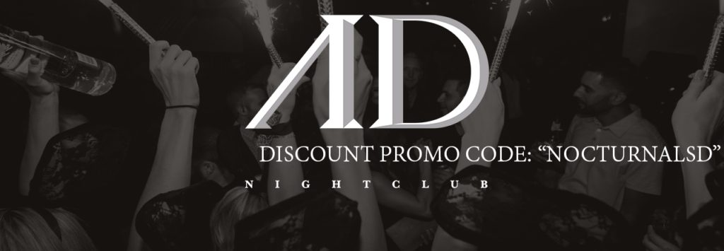 AD NYE 2018 Tickets Promo Discount Code San Diego