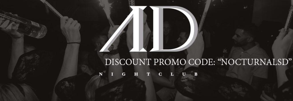 AD NYE 2018 Tickets Promo Discount Code San Diego
