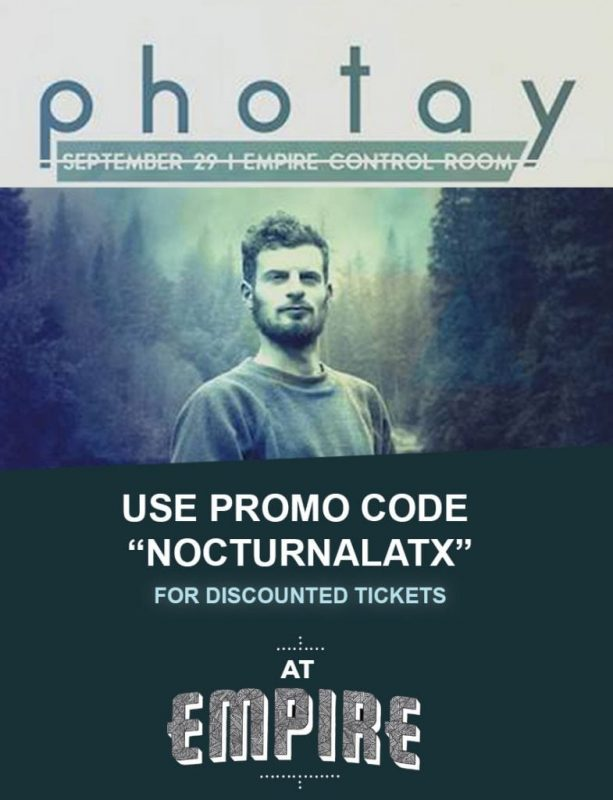 Empire Control Room Tickets Promo Code Austin Events Photay 2017