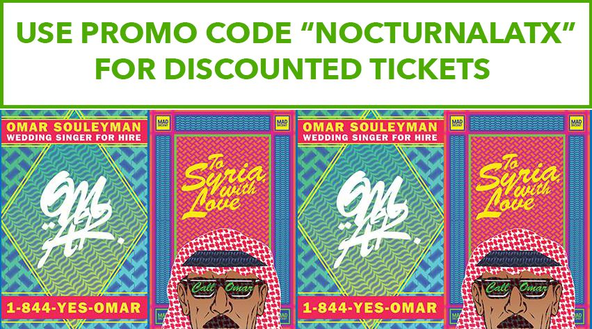 Empire Garage Tickets Promo Code Austin Events Omar Souleyman 2017