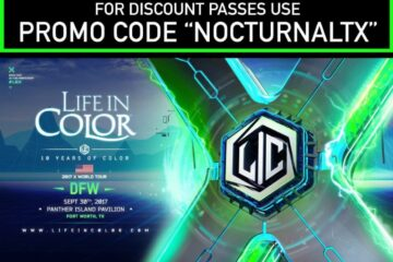 Life In Color 2017 Dallas Tickets Discount Promo Code